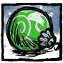 Green Festive Bauble Profile Icon