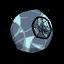 Roca lunar acraterada
