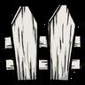 White Picket Fence Icon