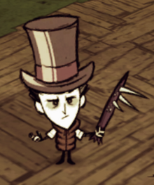 Wilson wearing a Top Hat and a Breezy Vest.png