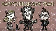 Don't Starve Newhome Happy Lunar New Year