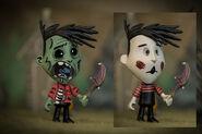 Zombie Wes Figure Concept Art