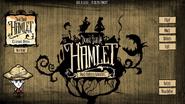 Hamlet Beta Main Menu