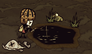 Fishing stage 1