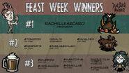 Don't Starve Newhome Fan Fiest Week Winners