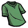 Lief Green T-Shirt Icon