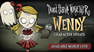 Wendy Character Update Announcement Promo