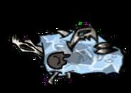 Moonrock Pengull Sleeping