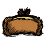 Tied Trapper Hat Icon