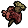 Staked Heart Icon