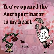 Don't Starve Newhome Valentine's Day Wes