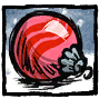Pink Festive Bauble Profile Icon