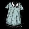 Anthropomorphic Feline Blue Nightgown Icon
