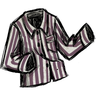Snail Mucus Purple Jammie Shirt Icon
