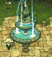 Pugalisk fountain