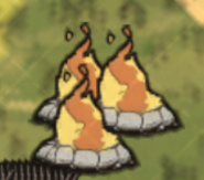 Fire Pit old icon