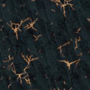 Ground lava rock