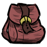 Rook Red Buckled Backpack Icon