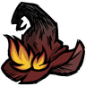 Fiery Witch's Hat Icon