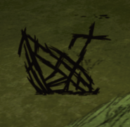 Burnt Sunken Boat