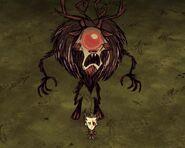 Deerclops Reskin Winter's Feast in game.webp