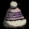 Pink Winter Hat Icon