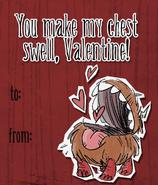 Chester Valentine Card