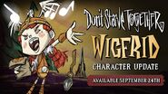 Wigfrid Character Update Announcement Promo