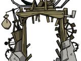Portal improvisado