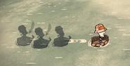 Shadows boat