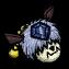 Prachtvolles Ornament Edelsteinreh Blau