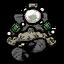 Prachtvolles Ornament Krabbenkönig Perle