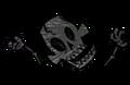 Verkohltes Skelett 4