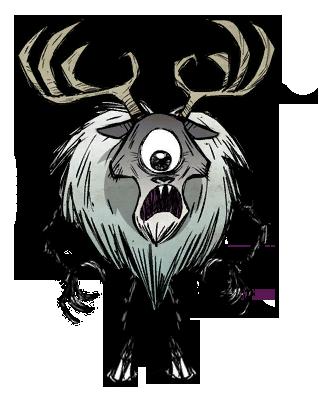 Deerclops' Augapfel
