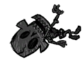 Verkohltes Skelett 2