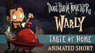 "Don't Starve Together-Don't Starve Together ""Taste of Home"" - Warly animierter Kurzfilm"