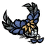 Prachtvolles Ornament Malbatross