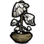 Große Pilzlampe