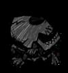 Verkohltes Skelett