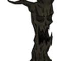 Lebender Baumstamm