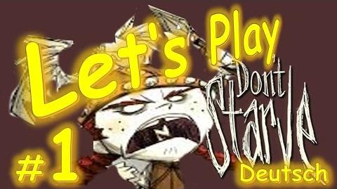 LP Let's Play - Dont Starve RoG 001- Wigfried - Großvögelarmee - Deutsch German