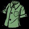 Willful Green Buttoned Shirt скин