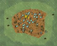 Приливное болото на карте