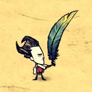 Уилсон использует тропический веер