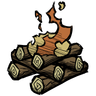 Survivalist Campfire Icon