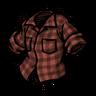 Higgsbury Red Lumberjack Shirt скин