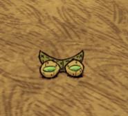 Инфракрасные очки на земле