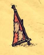 Snakeskin Sail on the ground