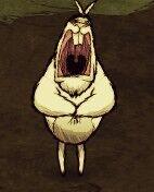 Заяц кричит
