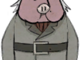 Cochon marchand
